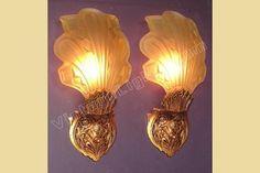 deco sconces antique | original art deco lighting