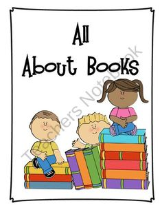 Parts of a Book - All About Books - Anchor Posters - Charts for Common Core from The Creation Station on TeachersNotebook.com (11 pages)