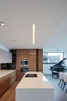 Penthouse F6.1 in Prague by Jana Hamrova of Objectum - Design Milk