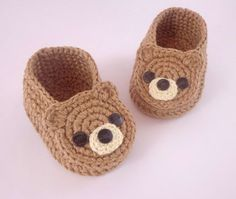 CROCHET PATTERN Baby Sandals -