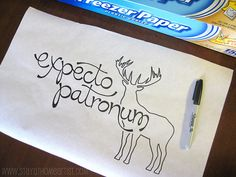 Stencil on Freezer Paper to create your own custom-designed shirts.