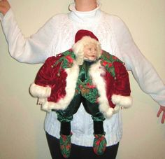 This Nightmare: | 13 Ugly Holiday Sweaters That Are Almost Too Ugly To Wear Ugliest Christmas Sweater Ever, Tacky Christmas Sweater, Holiday Sweaters, Tacky Sweaters, Christmas Shirts, Ugly Sweater Contest, Ugly Sweater Party, Baby Bjorn, Holiday Outfits