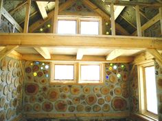 """Nick Kautazer, [a] designer and builder of timber framing, stone masonry, furniture, rock walls, patios and doors. I also create cordwood structures such as Cupolas, green houses and additions to existing structures."""" –Nick Kautazer See more of Nick's work…"""
