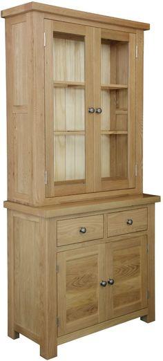 Dinton Small 2 Door Glazed Dresser