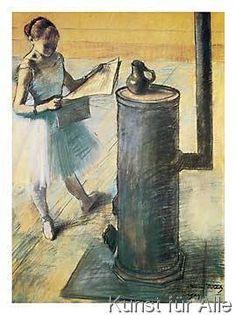 Edgar Degas - La Pausa, 1879-80