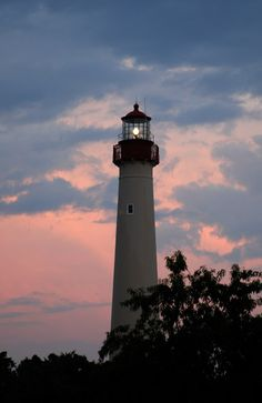 Cape May Point Lighthouse.  Who knew there is such great food, views, bird watching, beaches, butterfly migration, sunsets?