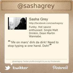 @sashagrey's Twitter profile courtesy of @Pinstamatic (http://pinstamatic.com)