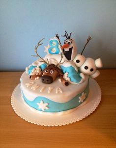 Olaf & Sven by Frozen