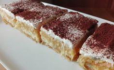 Express Apfelkuchen mit Vanillepudding * Einfache Rezepte