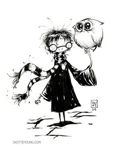 Harry Potter by skottieyoung on deviantART