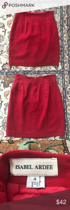 """Isabele Ardee"" mini skirt (size 4) Vintage skirt in a size 4. If you have any questions, feel free to leave a comment below isabel ardee Skirts Mini"