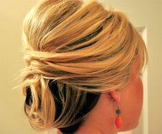Short wedding updo hairstyles