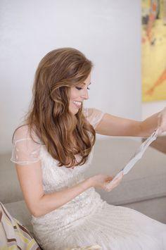 Bride in Jenny Packham Gown 1 - Elizabeth Anne Designs: The Wedding Blog