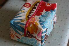 Oilcloth Box Bag