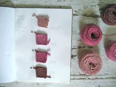 dye journal 1 (by coco knits) Fabric Yarn, How To Dye Fabric, Natural Dye Fabric, Natural Dyeing, Spinning Wool, Textiles, Hand Dyed Yarn, Fabric Painting, Crochet Projects