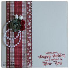 Quick christmas card *** MAJA DESIGN *** - Scrapbook.com
