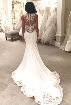 Lace wedding dress. Forget about the groom, for now lets concentrate on the bride whom considers the wedding ceremony as the very best day of her lifetime. With this simple fact, then it is definite that the wedding gown should be the best.