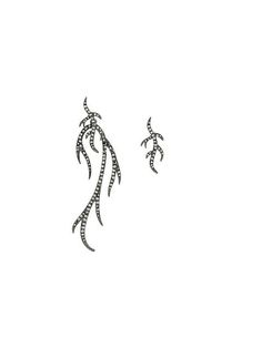 Shop Federica Tosi branch studded earrings in Degli Effetti Women from the world's best independent boutiques at farfetch.com. Shop 400 boutiques at one address.
