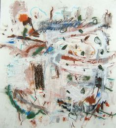 Colorado IV, 2007, mixed media on paper, 25x22 inches, 64x56 cm