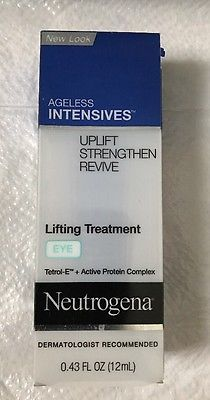 Neutrogena Ageless Intensives Eye Lifting Treatment 0.43 oz NIB