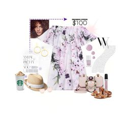 """""""Untitled #406"""" by blackparrott on Polyvore featuring Miu Miu, RED Valentino, Vita Fede, Balenciaga, Topshop, The Hand & Foot Spa, Gap, Quay and Marc Jacobs"""