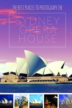 The following are great photography locations for shooting the Sydney Opera House. Head here if you're looking to travel like a photographer and not a tourist.