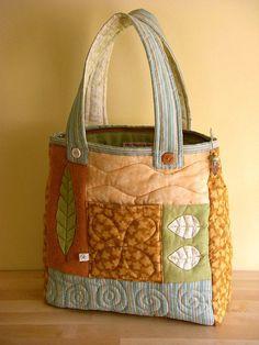 Bolso de patchwork. Bag.