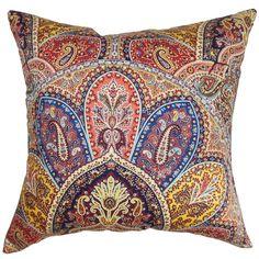 Lehana Cotton Throw Pillow