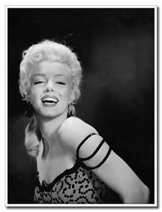"Marilyn Monroe Super Star 24""x31"" Vintage Style Poster Print Wall Decoration"