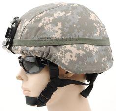 USMC Mich2000 Helmet Set ACU