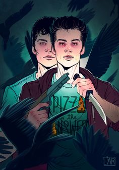 Supernatural/Teen Wolf crossover Twin's theme with Stiles!Nogitsune and Thomas as brothers. There will be a story and other arts for this. Twin Skeleton's by DakotaLIAR —– Feel free to ask me about...