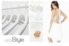 uppStyle, biały, white