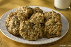 These aren't your grandmother's fat-laden oatmeal cookies, but we bet you they'll taste just as good!