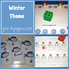 Winter Theme in Preschool preschool