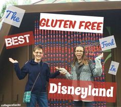 The best gluten free food this celiac found at Disneyland People say it's the happiest place on Earth.but no happy day is complete without a delicious gluten free meal, right? I decided to find out for… Gluten Free Buns, Gluten Free Diet, Gluten Free Recipes, Best Disneyland Food, Disneyland Secrets, Disneyland Vacations, Disneyland 2015, Gluten Free Restaurants, Disney California Adventure