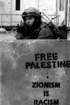 Free Palestine .  Zionism is Racism !