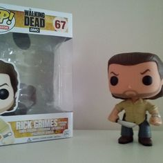 Got Rick! #popvinyl #twd #grimes #prisonyard #pop #thewalkingdead