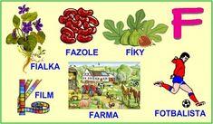 ABECEDA PÍSMENO F Alphabet, Education, Logos, Google, Languages, Autism, Alpha Bet, Logo, Onderwijs