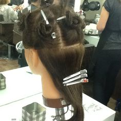 And this for a half head..  Three three.