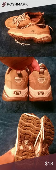 Skechers sport tan sneakers I wore these maybe twice but i need more of a running shoe. skechers  Shoes Sneakers