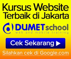 Anda mencari Kursus Website,Kursus SEO,Kursus Internet Marketing ????? Kursus SEO dan Internet Marketing Terbaik di Jakarta salah satu yang terbaik adalah di DUMET School.