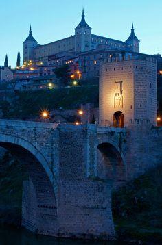 Puente de Alcantara,  Toledo. Spain