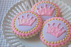 Sweet Goosie Girl: Princess Crown Cookies