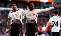 Suarez hits treble in six-goal - Liverpool FC