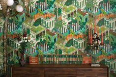 New Collection Cole & Son Geometric 2: Miami. Now available in our online shop: ethnicchic.com