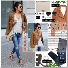 A fashion look from October 2015 featuring MANGO jackets, rag & bone jeans and Isabel Marant sandals. Browse and shop related looks.