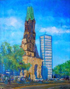 Kaiser Wilhelm Memorial Church, Berlin - Germany