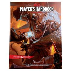 The Player's Handbook is the essential reference for every Dungeons & Dragons roleplayer. It contains rules for character creation and advancement, backgrounds and skills, exploration and combat, equipment, spells, and much more. Use this book to create characters from among the most iconic D&D races and classes.
