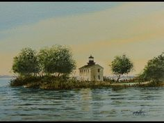 Paint Along with Larry Hamilton - July 23, 2013 - Watercolor Workshop - Lessons -1-3 - YouTube
