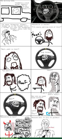 bleeping bleep... lol i would crash and die if this happened to me